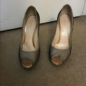 Casadei Shoes - Casadei Fishnet Heels...Sz: 37.5... $540.00