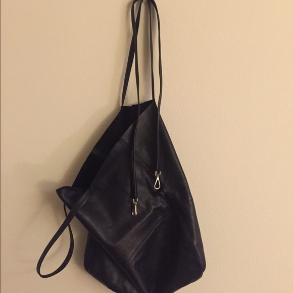 e1caf53519 COS Handbags - (Sold) COS raw edge leather tote bag  Used once!