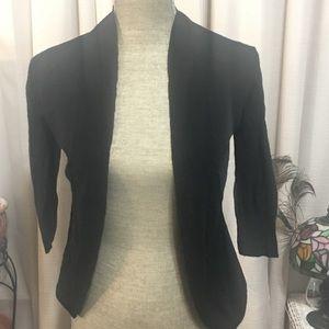 Sweaters - BOSS BABE cardi Black Shawl Mossimo Size Small