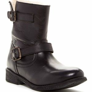 Zigi Soho Shoes - Ziginy Black 'Imrie' Faux Shearling Lining Boot