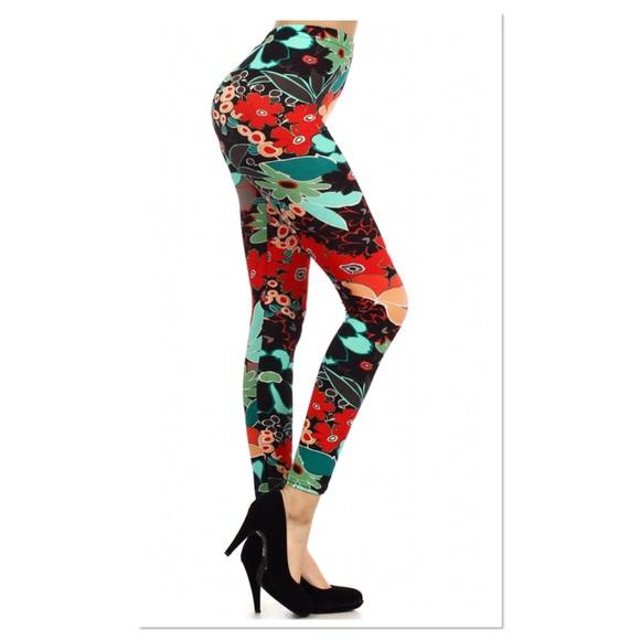 Boutique Pants - Floral Leggings