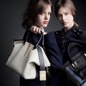 Isobella & Chloe Handbags - chloe baylle handbags grey medium