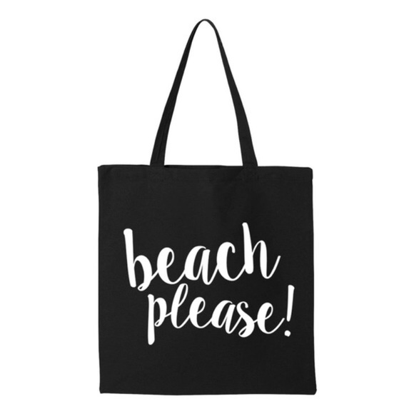 Salt Lake Clothing - Sale!!!! Beach Please Tote Bag 😎🏝 from ...