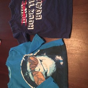 2 Toddler boy 3T shirts