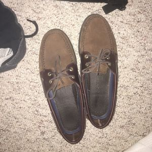 Sperry Other - Brown suade Sperry's