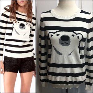 HPForever 21 polar bear sweater
