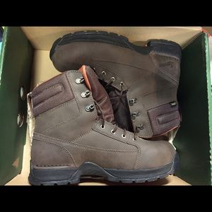 Danner Shoes - Women's Danner Brown Leather Work Boots Size 11M