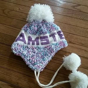 Accessories - Pom Pom hat from Amsterdam!   NWOT