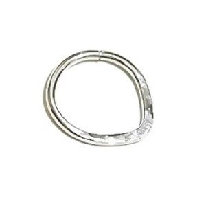 925 Sterling Silver Triangle Septum Ring