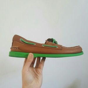 Sperry Top-Sider Other - NEW Men's Sperry Top-Sider A/O Neon Boat Shoes