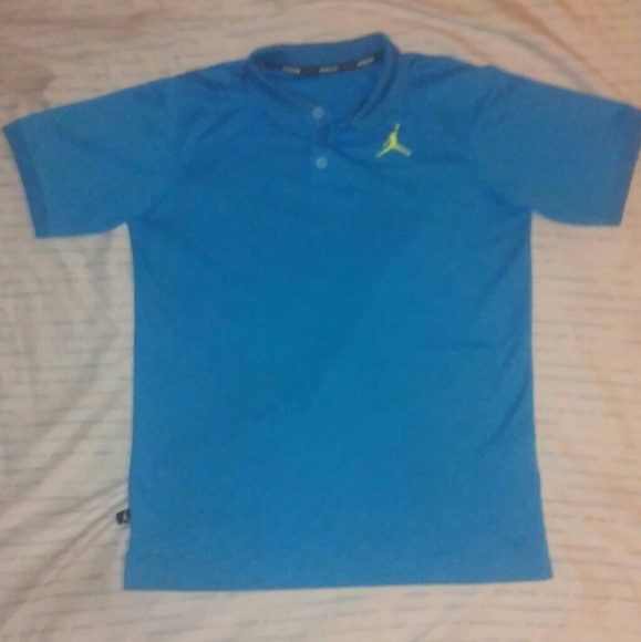 5553fd3a560c Jordan Other - Jordan Small Baby Blue Kids Polo with Dri Fit!