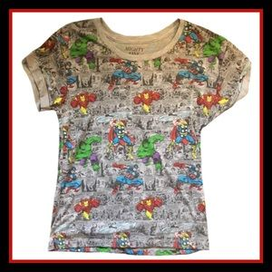 Mighty Fine Tops - Marvel Short Sleeve Shirt