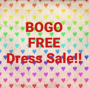 BUY ONE GET ONE FREE DRESS SALE BACK ON !!