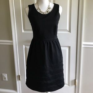 Cynthia Rowley Dresses & Skirts - Cynthia Rowley black Ponte fit & flare dress S