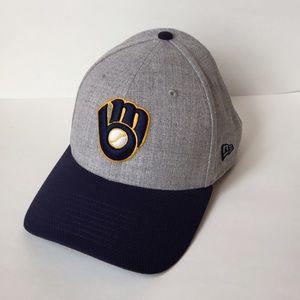 New Era Other - Milwaukee Brewers New Era 39THIRTY Cap