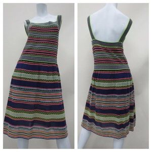 M by Missoni Dresses & Skirts - Missoni Striped Cotton Sleeveless Dress