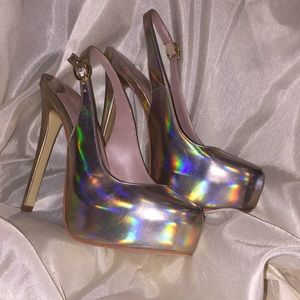 Christian Siriano Shoes - NEW! CHRISTIAN SIRIANO Platform Sling Sz: 8