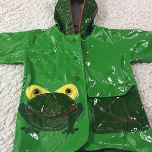 Kidorable Other - Kidorable toddler frog rain jacket 12/18mo