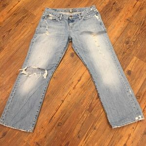 Abercrombie & Fitch Denim - Abercrombie and Fitch size 8 crop jeans
