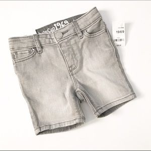 GAP Other - NWT! Baby Gap gray Denim shorts