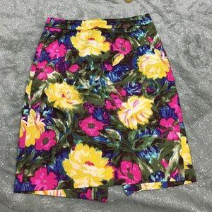J. Crew Dresses & Skirts - J. Crew the pencil skirt floral print