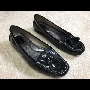Sperry Top-Sider Shoes - Sperry Brant Point Black Patent Shoes
