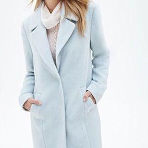 Forever 21 baby blue Coat