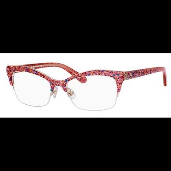 f77d74505c kate spade Accessories - Kate Spade Lyssa pink glitter glasses.