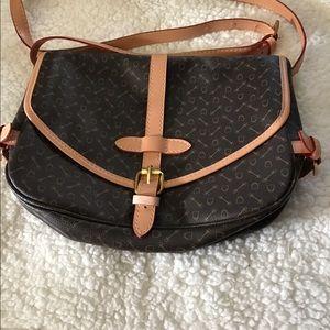 RARE Leather Crossbody Bag