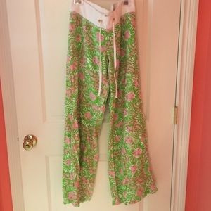 Lilly pulitzer beach pant size S