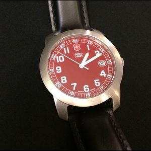 Victorinox Other - SWISS ARMY Alliance Mechanical Leather Watch SS