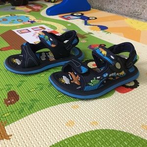 Gold Pigeon Shoes Other - Outdoor & water sandals for kids. cars airplanes