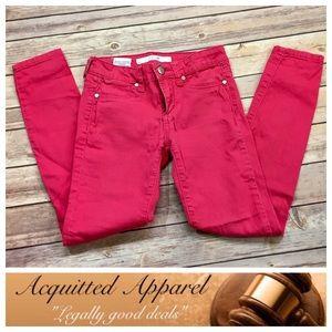 Joe's Jeans Other - {Girls} [Joe's] Jeans Pink Skinny Cut Size 10