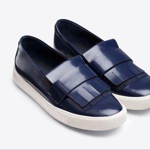 🆕 VINCE Blue Kilte Platform Sneakers