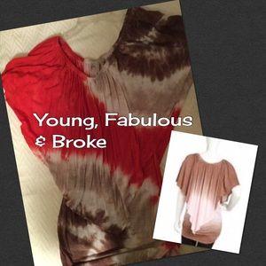 Young Fabulous & Broke Tops - Young Fabulous & Broke, boho tunic Final discount!