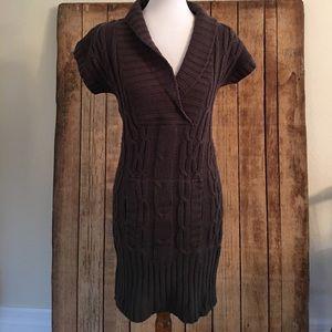 Cherish size medium olive green sweater dress