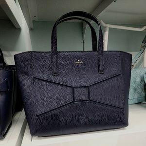Kate Spade bridge place sm Francisca satchel navy