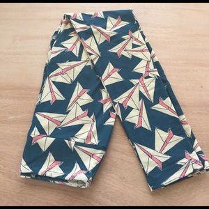 LuLaRoe Pants - Lularoe OS paper airplane leggings