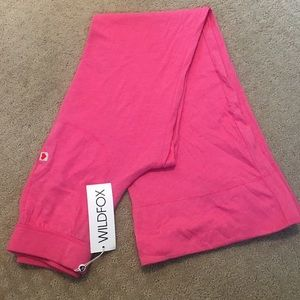 NWT Wildfox Wide Leg Sweatpants