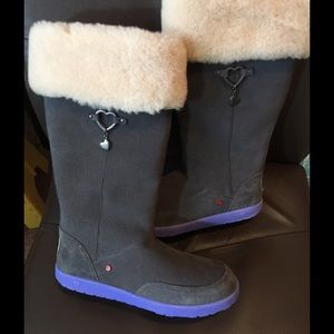 UGG Shoes - NWT UGG  boots gray/purple 6