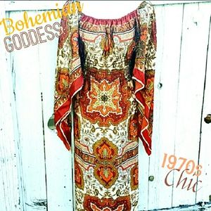 Vintage  Dresses & Skirts - VINTAGE 1970s HANKY DRESS