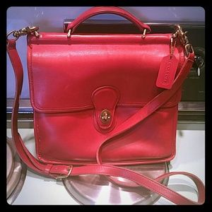 Vintage Coach Willis Bag Tablet iPad purse