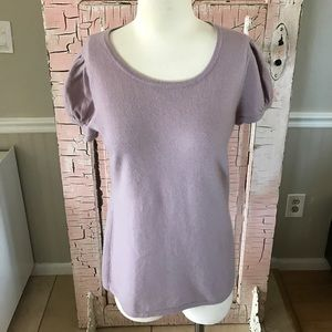 Saks Fifth Avenue Black Label Sweaters - 4/$25🎈Saks Fifth Avenue lilac 100% cashmere top