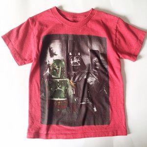 Star Wars Other - Star Wars [boys] Darth Vader red Selfie Shirt