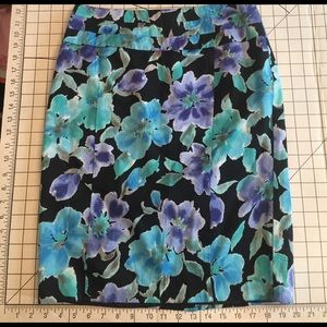 Covington Floral Pencil Skirt