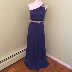 Dresses & Skirts - Navy Blue Prom Dress