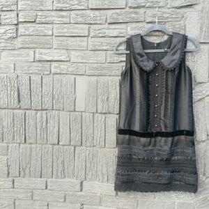 Anna Sui Dresses & Skirts - Anna Sui x Target Black Mini Lace Sheath Dress