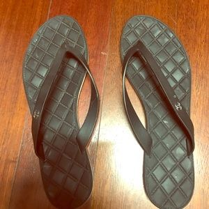 Chanel Authentic flip flops
