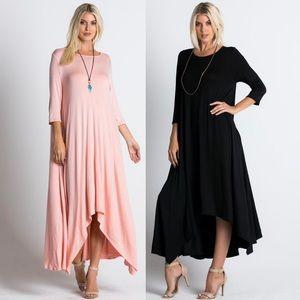 Leoninus Dresses & Skirts - 🇺🇸Loose Fit Maxi 3/4 Sleeve