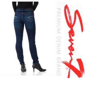 Seven7 Denim - Seven7 Dark Wash Skinny Premium Jeans